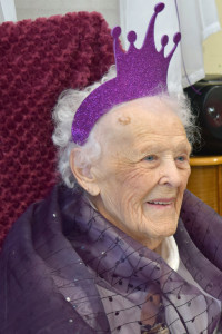 Hanson salutes newest centenarian, Barbara Meiggs