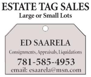 Estate Sales by Ed Saarela