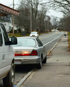 Whitman teen struck crossing street to bus